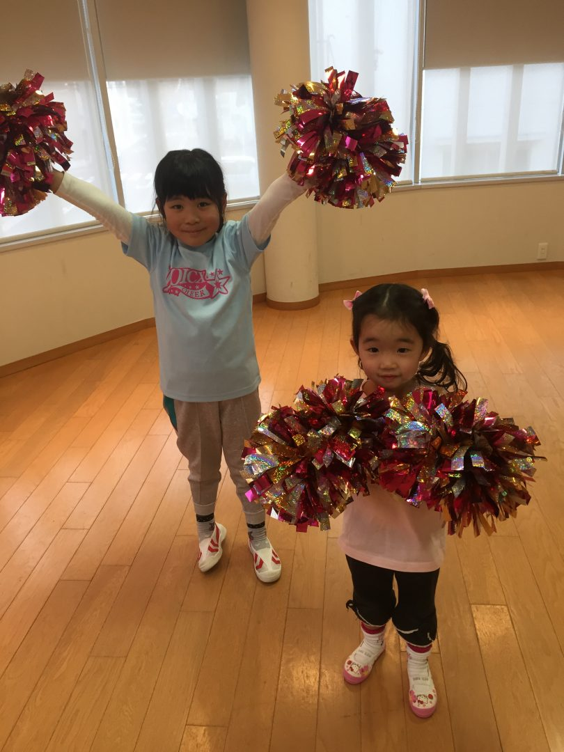 2月 LOICX☆チアダンススクール 本山 合同練習後