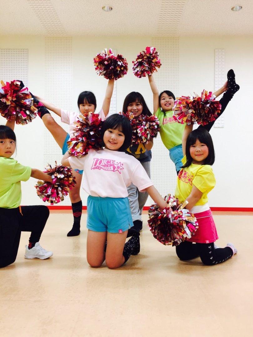 1月 LOICX☆チアダンススクール 可児多治見 頑張ろう