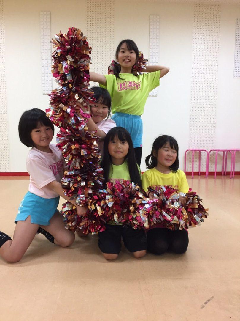 1月 LOICX☆チアダンススクール 可児多治見 お手紙