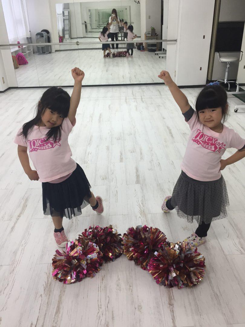 3月 LOICX☆チアダンススクール 名古屋校 仲良し