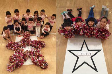 1月 LOICX☆チアダンススクール くずはローズ幼稚園