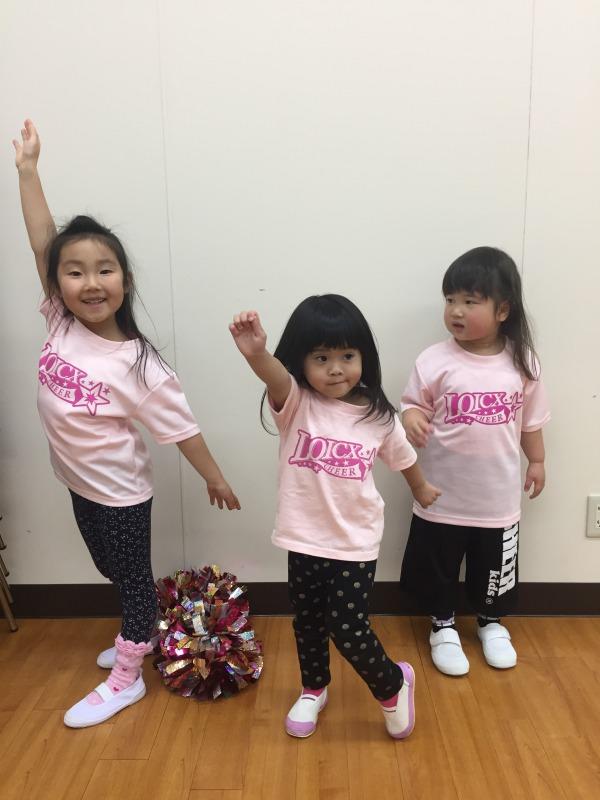 1月 LOICX☆チアダンススクール 守山志段味 団体行動の大切さ