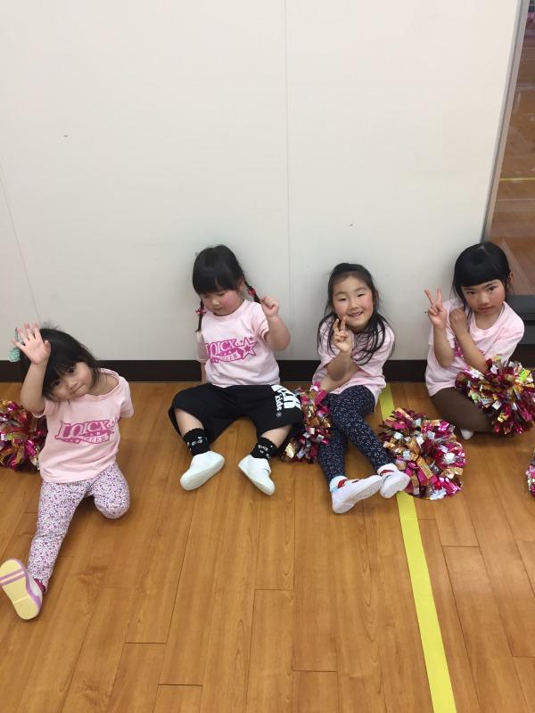 2月 LOICX☆チアダンススクール 守山志段味 素直な気持ち