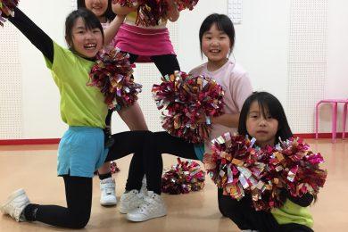 3月 LOICX☆チアダンススクール 可児多治見校 出る出る出る