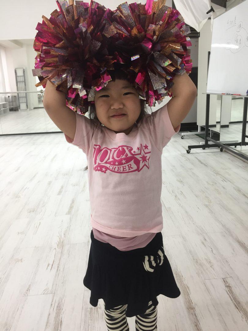 4月 LOICX☆チアダンススクール 名古屋 振り入れ