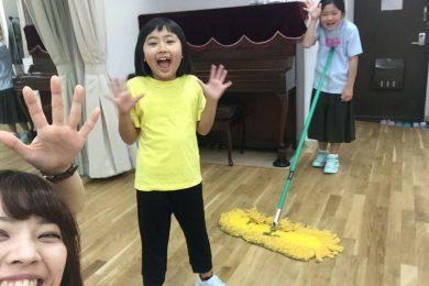 4月 LOICX☆チアダンススクール 大宮 お掃除