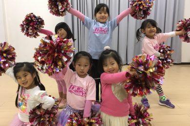 1月 LOICX☆チアダンススクール 神戸校 表情にっこり