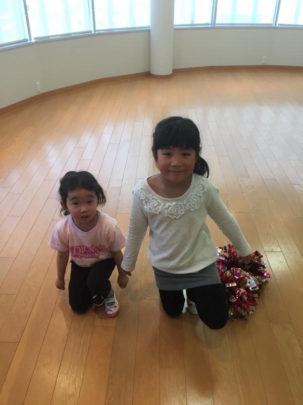 4月 LOICX☆チアダンススクール 本山 基礎練習