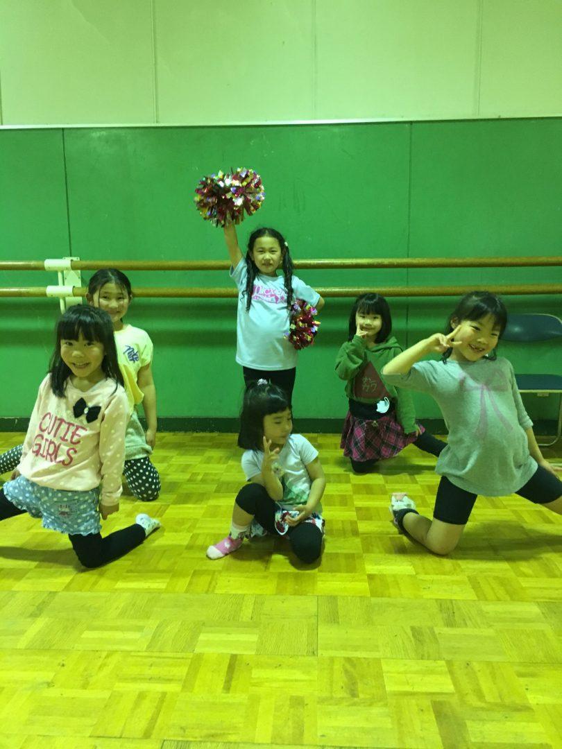 4月 LOICX☆チアダンススクール横浜若葉台校 反応の良さに感心