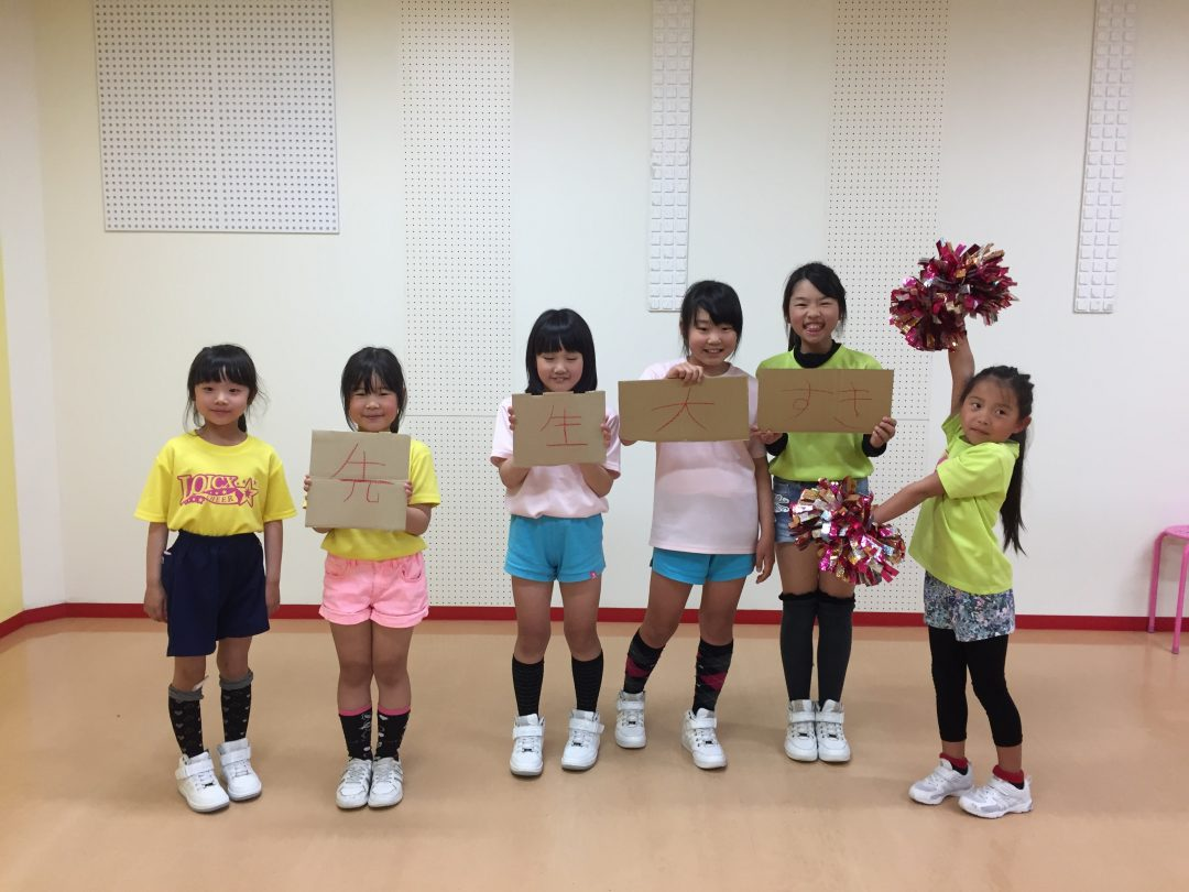 4月 LOICX☆チアダンススクール 可児多治見校