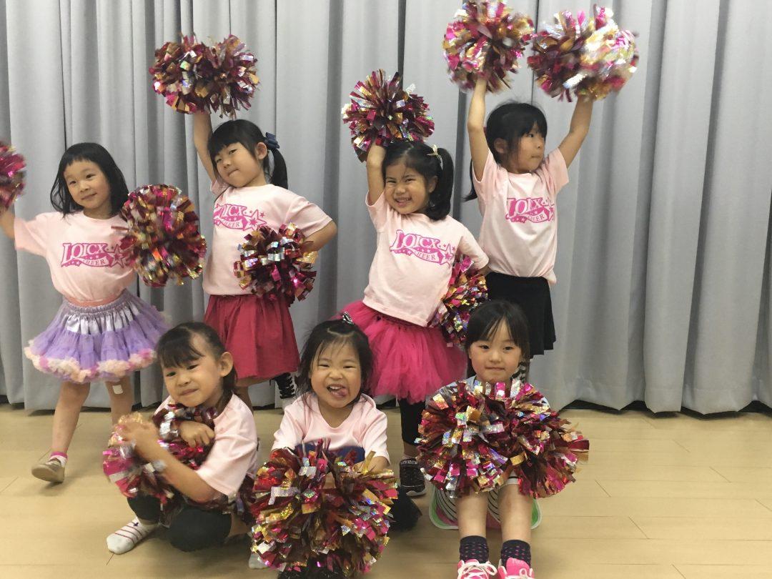 5月 LOICX☆チアダンススクール 神戸校 みんなで協力