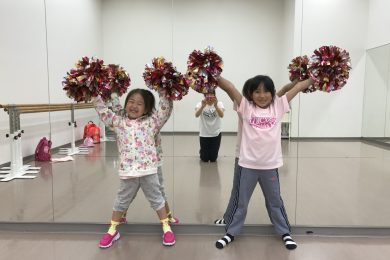 4月 LOICX☆チアダンススクール むさし村山校 アームモーション