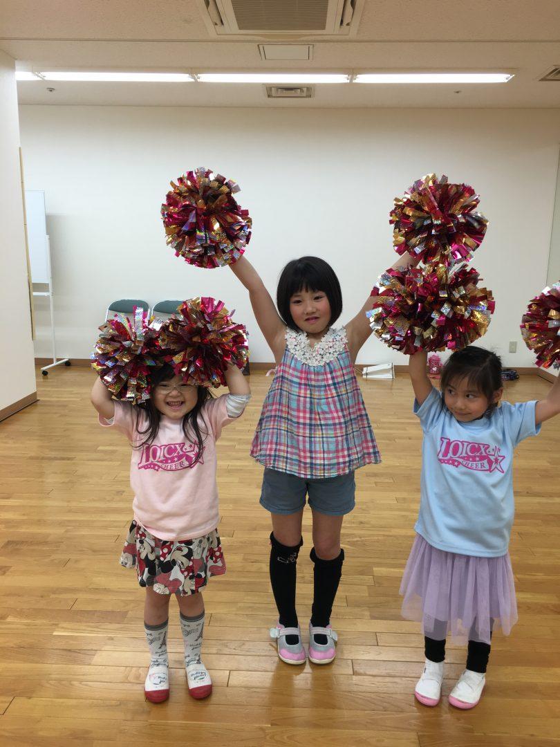 4月 LOICX☆チアダンススクール 多摩センター校