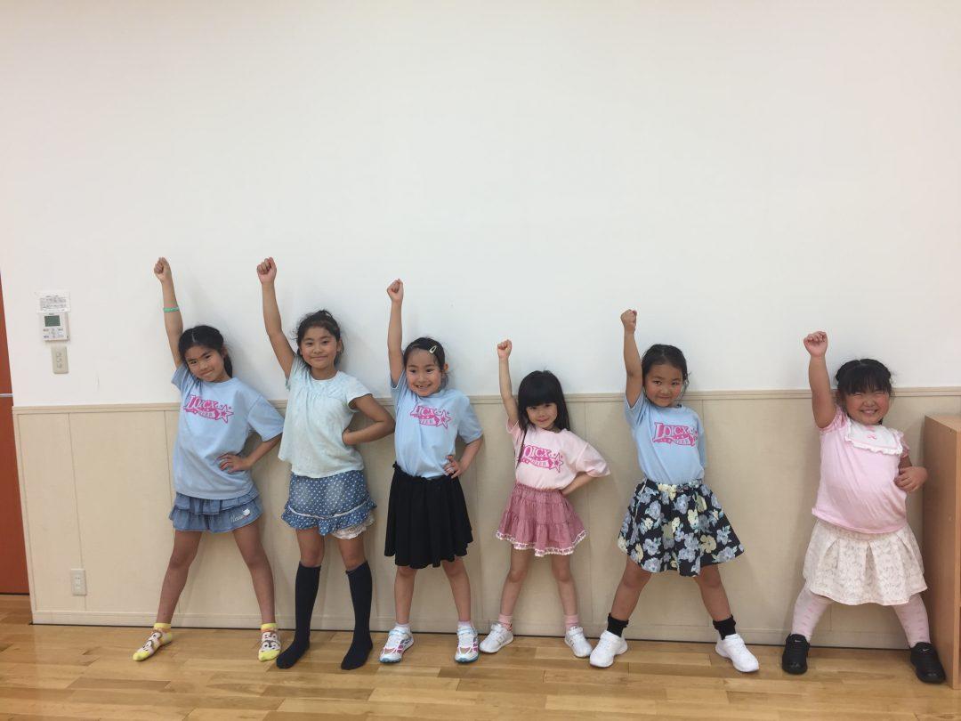 5月 LOICX☆チアダンススクール テラスモール湘南校 しっかりパンチ