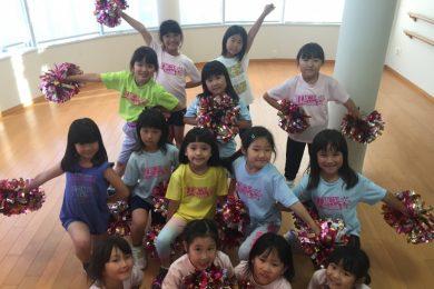 6月 LOICX☆チアダンススクール 本山 熱いレッスン