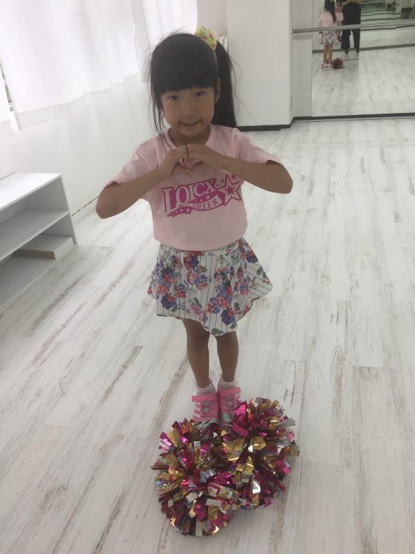 6月 LOICX☆チアダンススクール 名古屋 ありがとう
