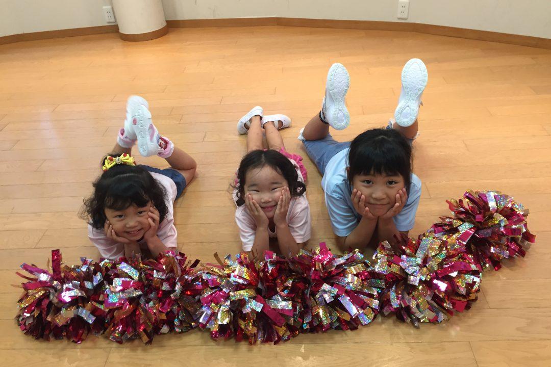 7月 LOICX☆チアダンススクール 本山 早く