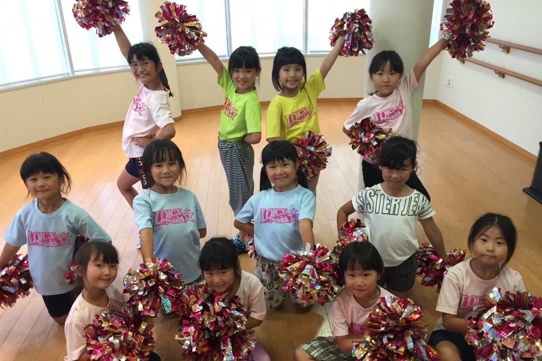 7月 LOICX☆チアダンススクール 本山 変化