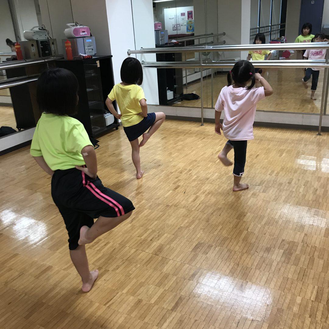 7月 LOICX☆チアダンススクール 海老名 保護者参観日