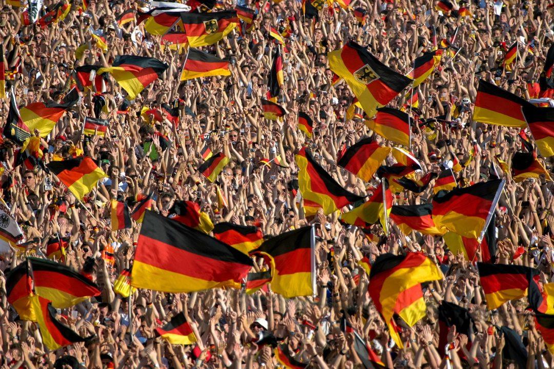 ドイツサッカー観客