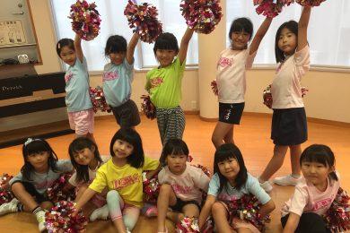 7月 LOICX☆チアダンススクール 本山 リボン