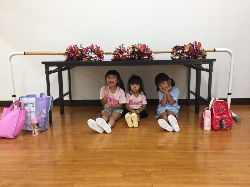 7月 LOICX☆チアダンススクール 守山志段味 失敗