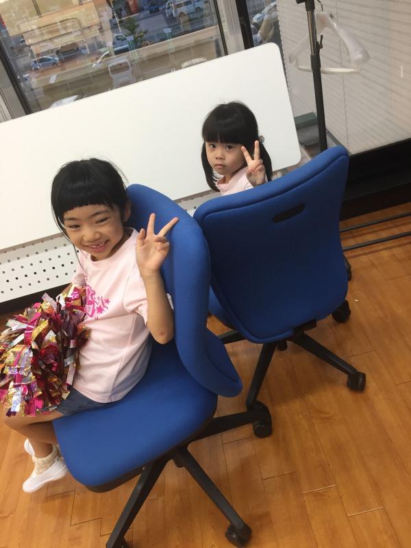 9月 LOICX☆チアダンススクール 守山志段味校 変なお顔