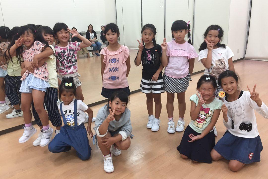 9月 LOICX☆チアダンススクール 津島 吸収の早さ