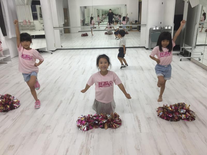 9月 LOICX☆チアダンススクール 名古屋校 ラインダンス