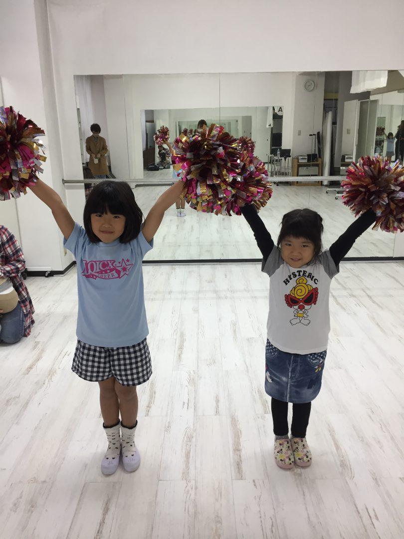 10月 LOICX☆チアダンススクール 名古屋 ポーズ