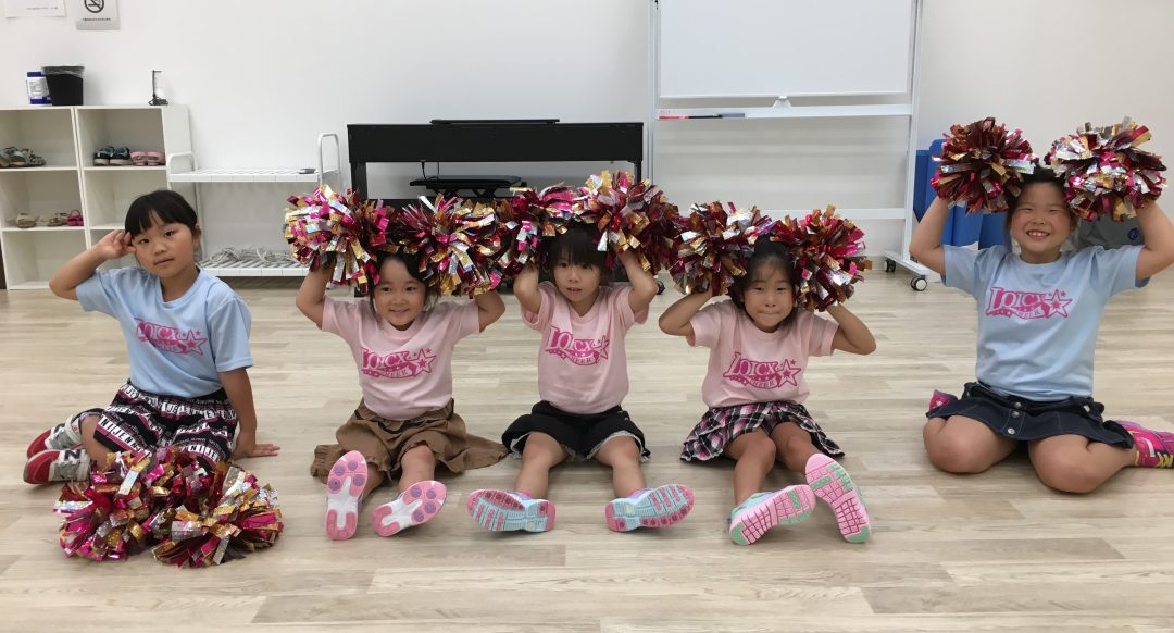 9月 LOICX☆チアダンススクール つくば