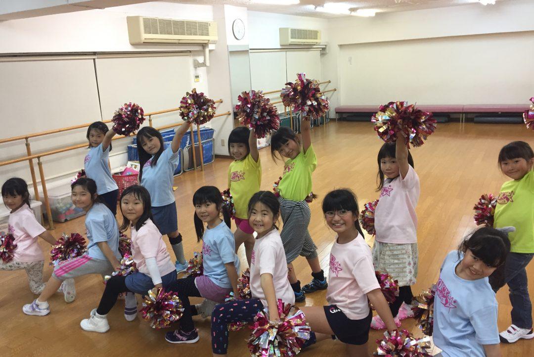 11月 LOICX☆チアダンススクール 本山 注意の聞き方