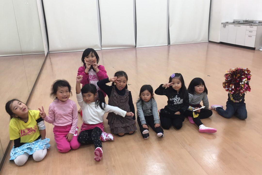 11月 LOICX☆チアダンススクール 津島 イベント前