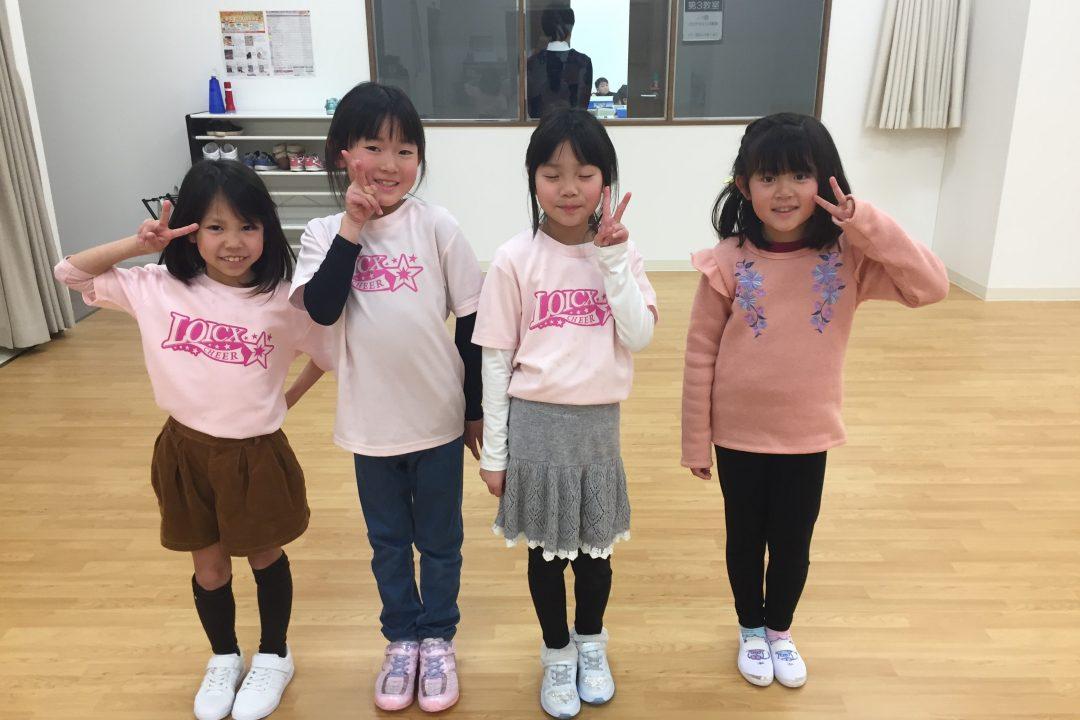 LOICX☆チアダンススクール 長久手 意欲的