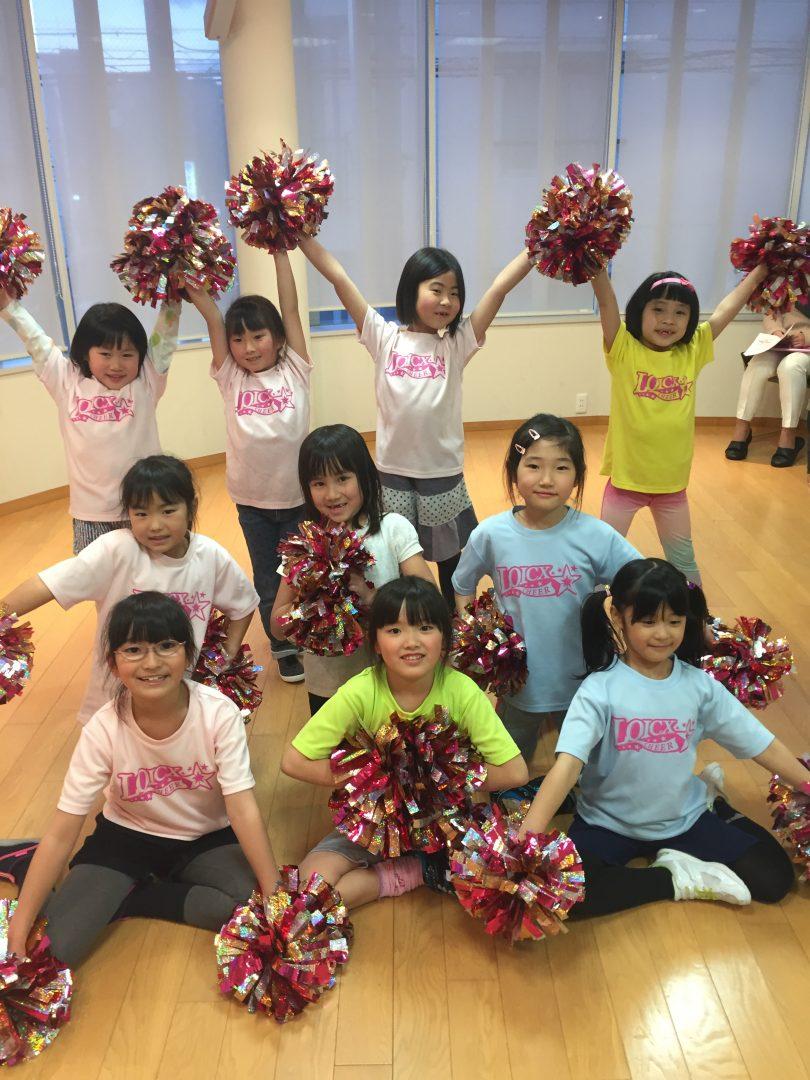 3月 LOICX☆チアダンススクール 本山校