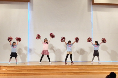 2月 LOICX☆チアダンススクール くずはローズ幼稚園