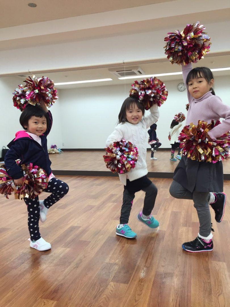 1月 LOICX☆チアダンススクール いりなか校 やられて嫌なことはしない!