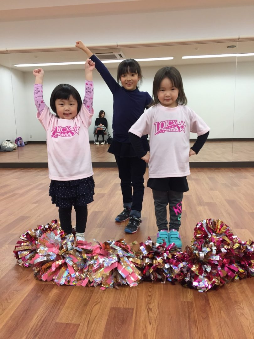 1月 LOICX☆チアダンススクール いりなか校 踊れた!