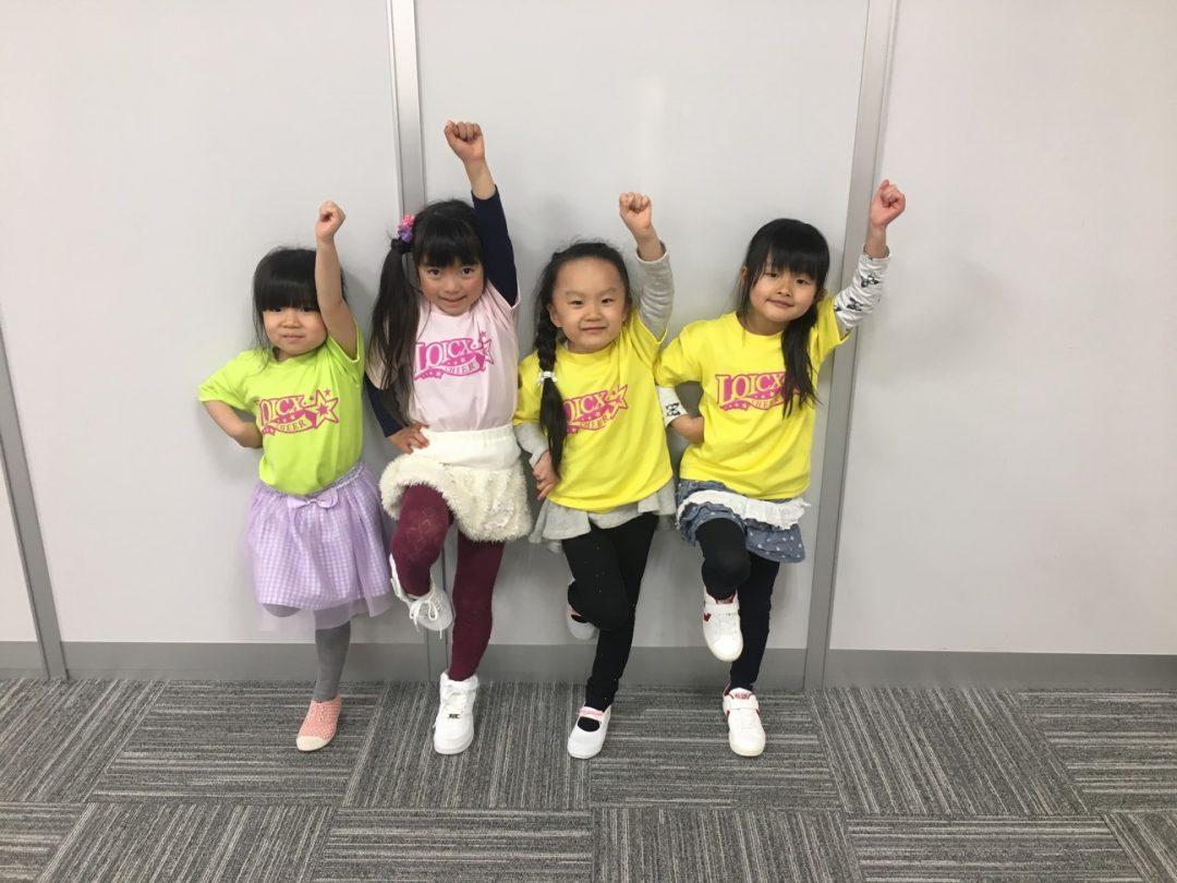 2月 LOICX☆チアダンススクール 勝川駅前校 みんなニコニコ笑顔☻