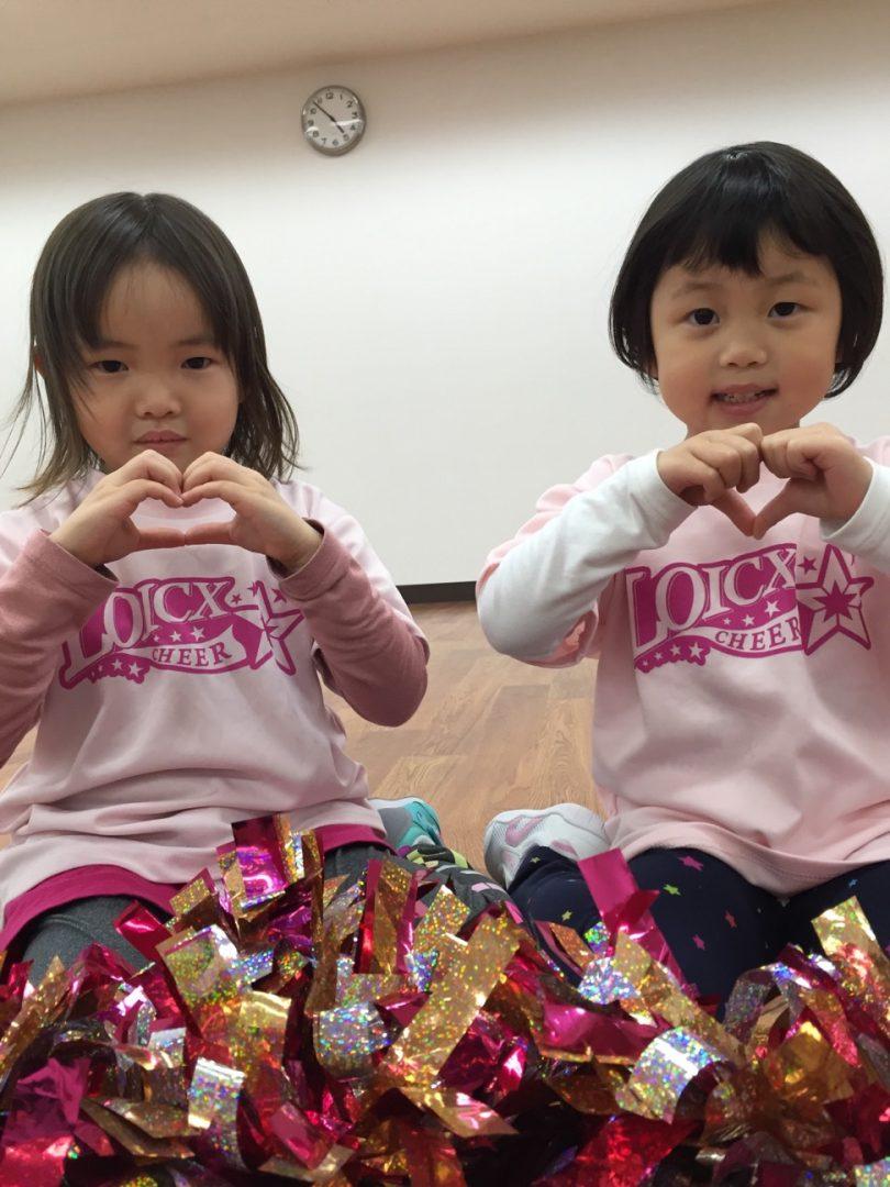 1月 LOICX☆チアダンススクール いりなか校 可愛いチアガール♡