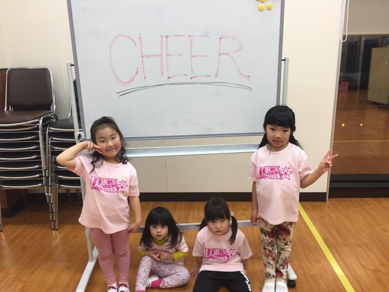 2月 LOICX☆チアダンススクール 守山志段味 宿題