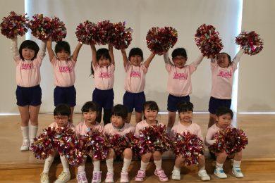 3月 LOICX☆チアダンススクール くずはローズ幼稚園