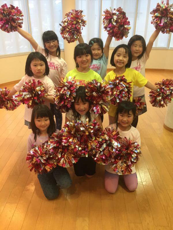 4月 LOICX☆チアダンススクール 本山校