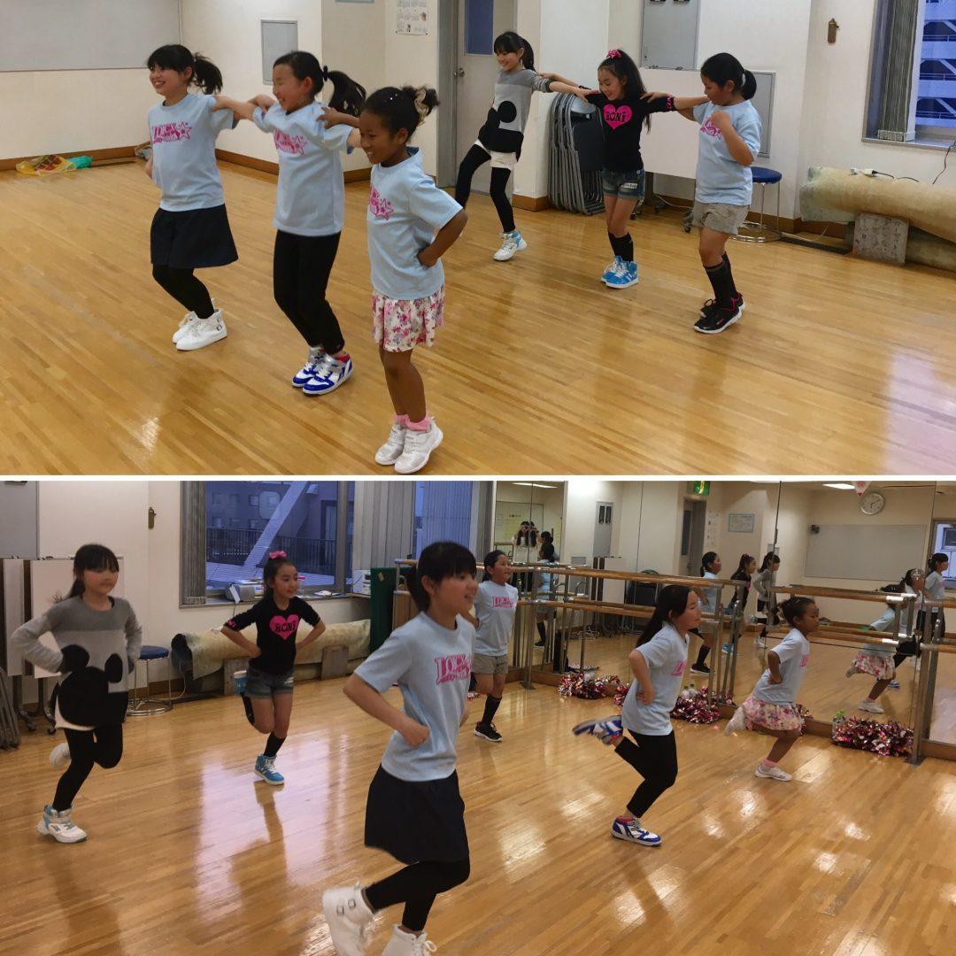 4月 LOICX☆チアダンススクール 川越校 アームの形