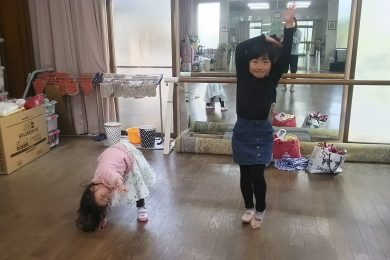 4月 LOICX☆チアダンススクール 仙台泉校 最後まで集中
