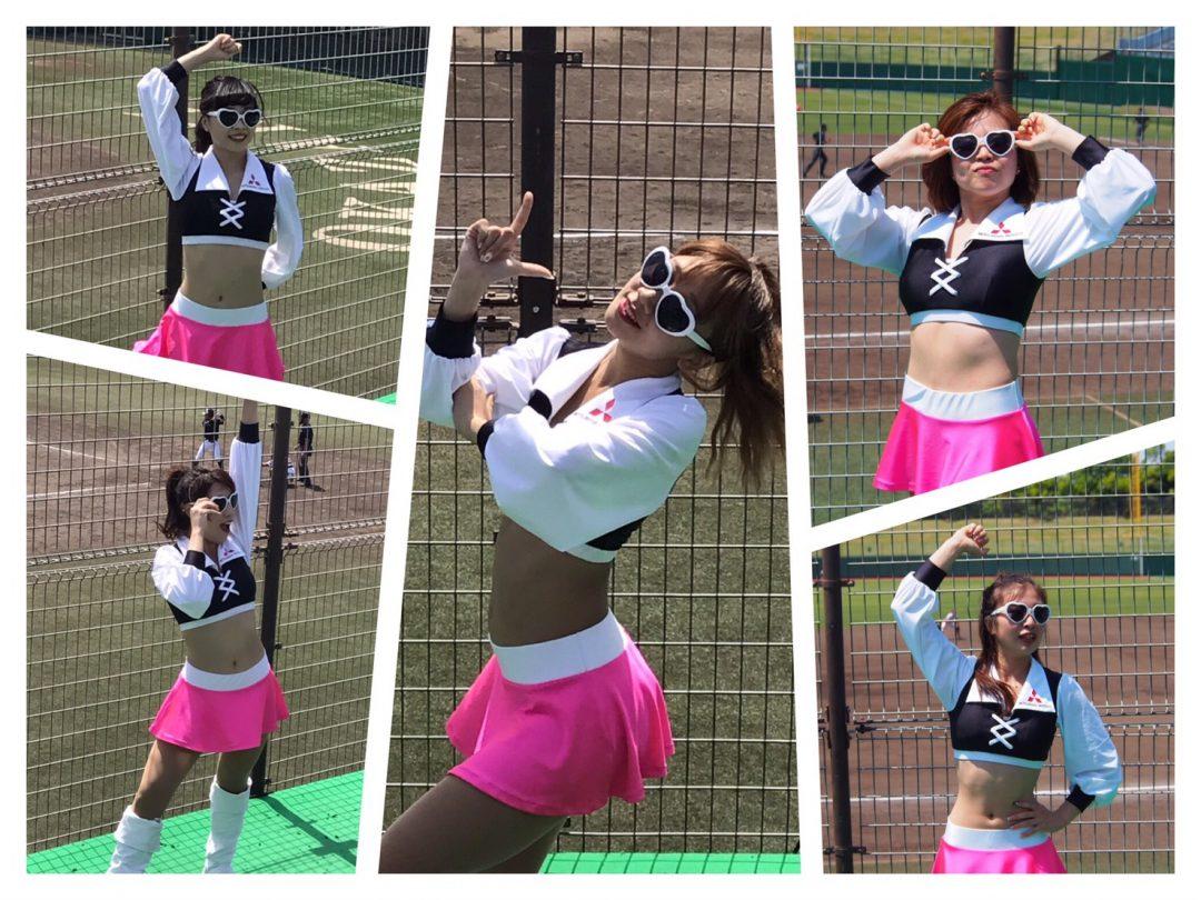 つっぱりダンス LOICX GIRLS☆ 都市対抗野球応援