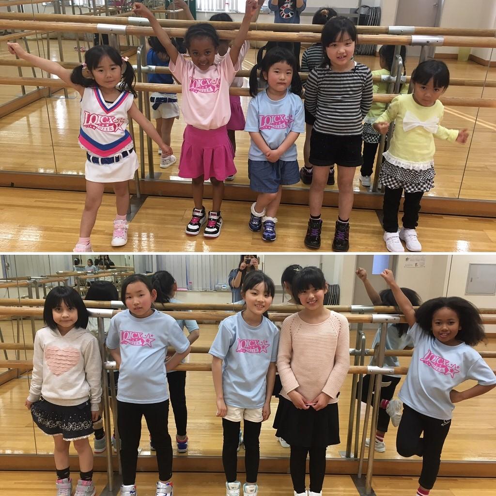 4月 LOICX☆チアダンススクール 川越校 目標を決める