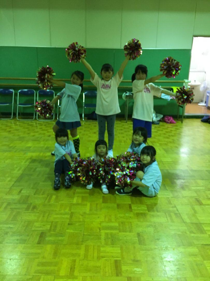 5月 LOICX☆チアダンススクール 横浜若葉台校 保護者参観日