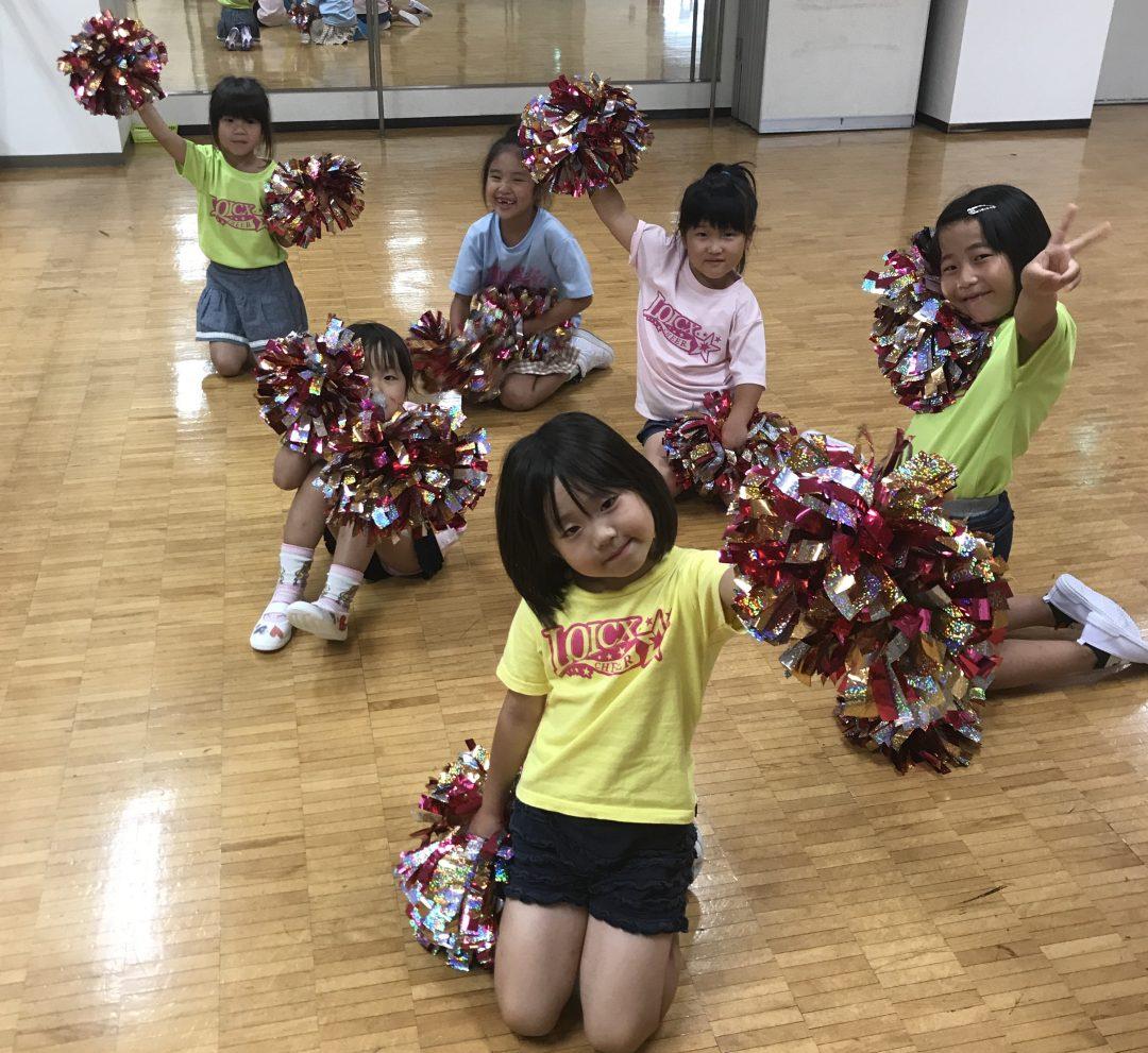7月 LOICX☆チアダンススクール 海老名 夏休み