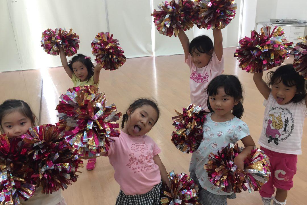 7月 LOICX☆チアダンススクール 津島 何の時間